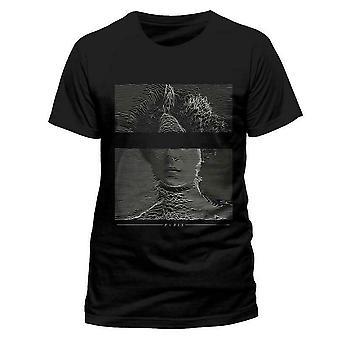 Pvris Unisex Adults Victorian Glitch Design T-shirt