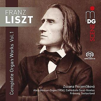 Complete Organ Works 1 [SACD] USA import