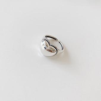 منع الحساسية الفضية خاتم