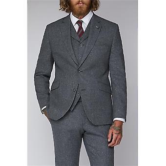 Grey Tweed Suit Jacket
