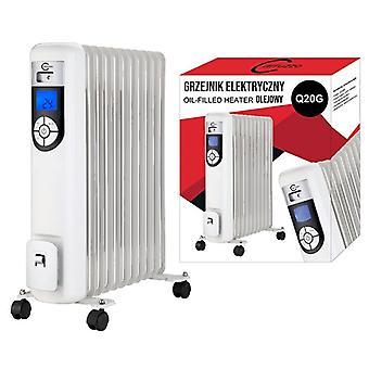 Elektromos fűtés - olajjal töltött - 2500 W - 13-30 Celsius fok