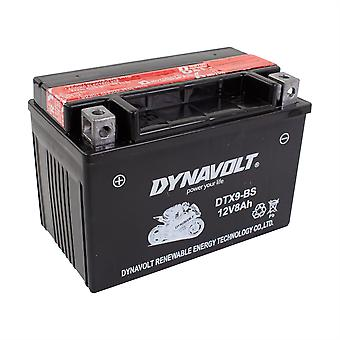 Dynavolt DTX9BS Maintenance Free Battery With Acid Pack YTX9-BS