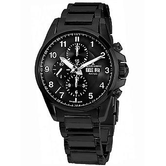 Mens Se Jacques Lemans 1-1750G, Kvarts, 44mm, 10ATM
