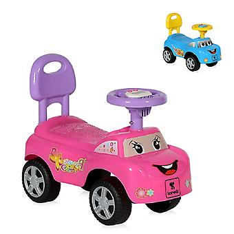 Lorelli Slider Children's Car My Friend, de 12 meses, função musical, encosto