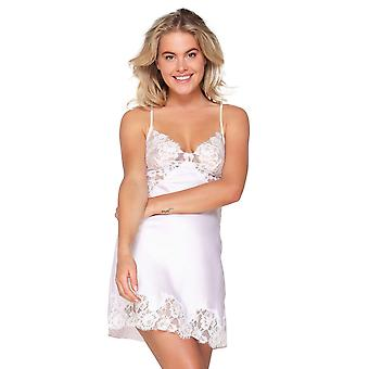 LingaDore 6013CH-276 Women's Orchid Ice White Lace Chemise