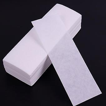 Netkaná telová tkanina na vlasy Odstráňte voskový papier