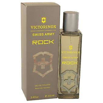 Swiss Army Rock Eau De Toilette Spray By Victorinox 3.4 oz Eau De Toilette Spray