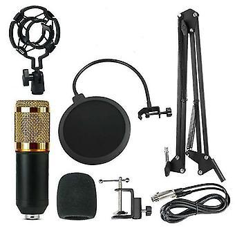 Stüdyo Yayıncılık Kaydı İçin Ayarlanabilir Süspansiyon Makas Koluna Sahip Mikrofon Kiti