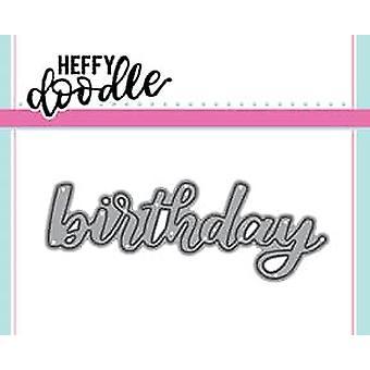 Muere el cumpleaños de Heffy Doodle