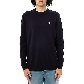 Calvin Klein monogramme poitrine logo pull homme cn pull j30j317118.chw