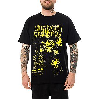 Men's T-shirt stussy bad dream tee black 1904648.black