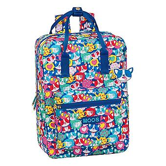 Rucksack with Upper Handle and Compartments Moos Corgi