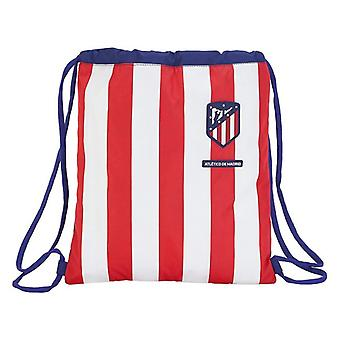 Backpack with Strings Atlético Madrid Blue White Red