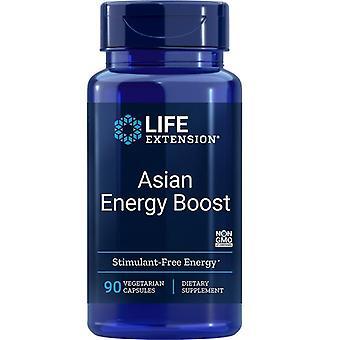 Life Extension Aziatische Energie Boost Vegicaps 90