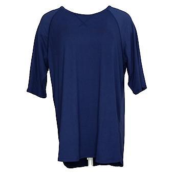 Cuddl Duds Kobiety&s Smart Comfort Piżama Koszulka Granatowa A346880