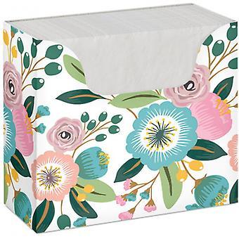 serviettenbox Blossoms 1-lagig 33 x 33 cm Papier