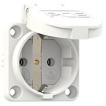 PCE 601.450.02 tillägg socket IP54 vit