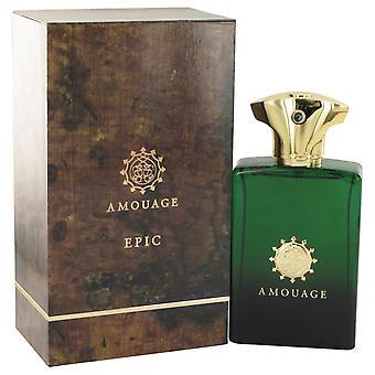 Amouage Epic door Amouage Eau De Toilette Spray 3.4 oz