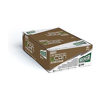 Generation UCAN bars with hazelnut cream 12 units of 40g (Hazelnut)