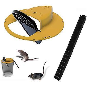 Flip N Slide Bucket Lid Mouse Rat Trap 10941