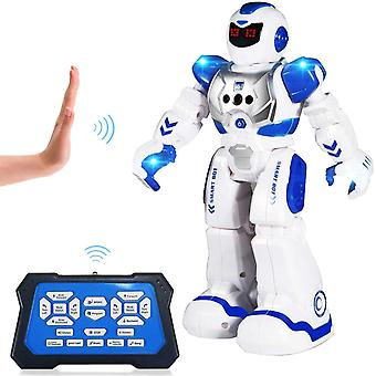 FengChun Ferngesteuerter Roboter fr Kinder, intelligenter programmierbarer RC Roboter Spielzeug mit