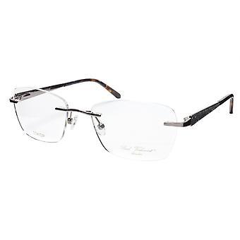 Paul Vosheront Eyeglasses Frame PV503 C02 Gold Plated Acetate Italy 52-17-135 36