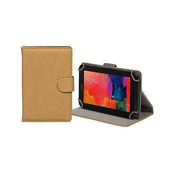 RivaCase Universele Tablet hoes 7 Inch (o.a. Samsung Galaxy Tab, Acer, Asus,Lenovo, Alacatel) - Beige