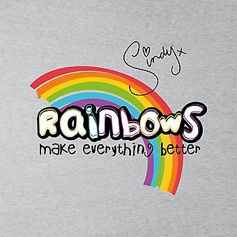 Sindy Rainbows Make Everything Better Kid's Sweatshirt