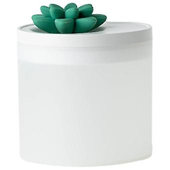 800ml Large Capacity Humidifier USB Ultrasonic Lotus Humidifier Cool Mist Maker  Humidifiers(green)