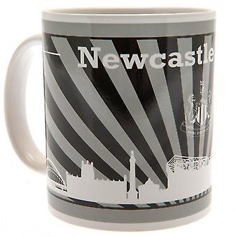 Newcastle United FC Striped Mug
