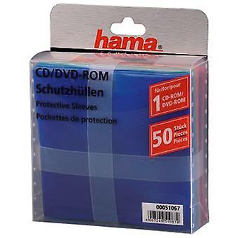 Hama Cd-rom/DVD-Rom védőujjak 50