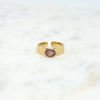 Niiki Women's Ring Paris - NCR134SQ - Rose - Colors Collection