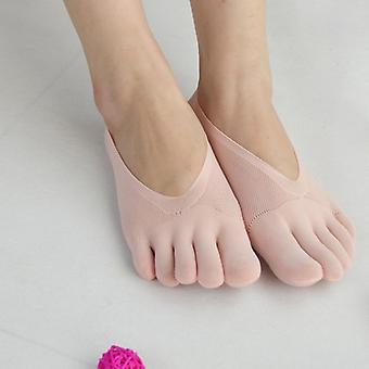 Orthopédie Ultrathin Anti-dérapage Chaussettes à cinq doigts