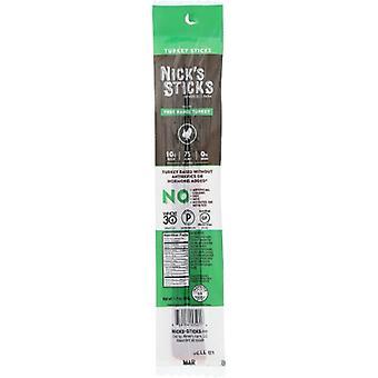 Nicks Sticks Snack Trky Stx Free Rang, Cas de 25 X 1,7 Oz