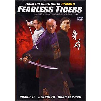 Fearless Tigers Aka Woman Knight Of Mirror Lake Movie Dvd -Vd7566A