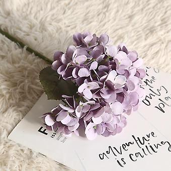 Konstgjorda silkeblommor brudhandbukett falska blommor