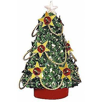 Pinflair Sequin &  Pin Christmas Tree - Makes 2