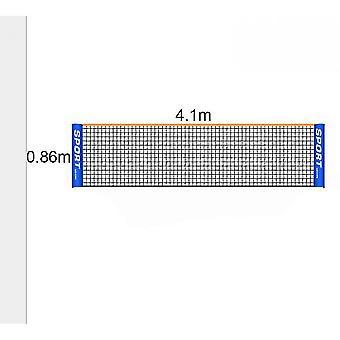 Portable Badminton Net Set - For Tennis, Soccer Tennis, Pickleball(4.1m)