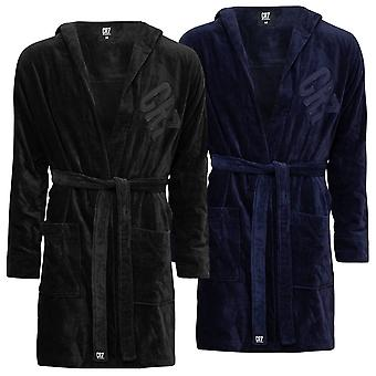 CR7 Mens 2021 Cristiano Ronaldo Luxurious Breathable Cotton Dressing Gown
