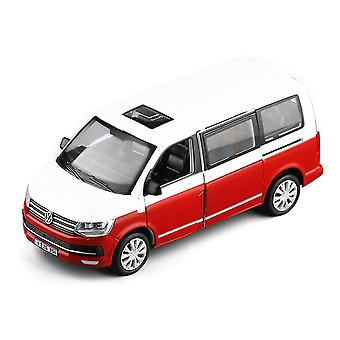 1:32 Multivan T6 سبيكة سيارة نموذج اللعبة (أبيض)