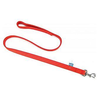 "Coastal Pet Double Nylon Lead - Red - 48"" Long x 1"" Wide"