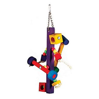 "Prevue Bodacious Bites Spinner Bird Toy - 1 Pack - (5""W x 14""H)"