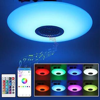 E27 rgb bluetooth music light bulb ceiling lamp rc colorful home decor lamp