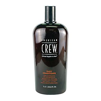American Crew Men Balsamo quotidiano (da morbidi, capelli gestibili) 1000ml/33.8 oz
