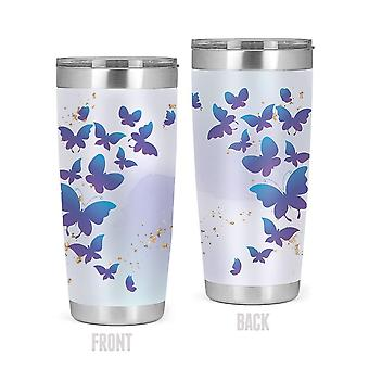 Butterflies Flying Tumbler -SPIdeals Designs