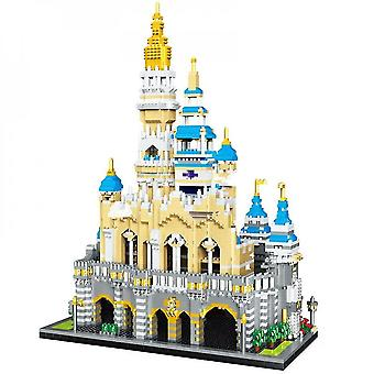 5297szt Magic Princess Castle Modal Building Blocks 3d Diamond City Architecture Park rozrywki