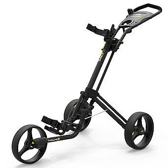 Powakaddy Unisex 2021 Twinline 5 Lite Quick Folding Push Cart Golf Trolley