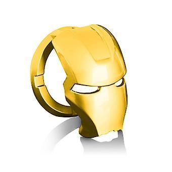 Vemix 3d Iron Man coche decoración interior accesorios un botón de inicio cubierta interruptor de encendido protector