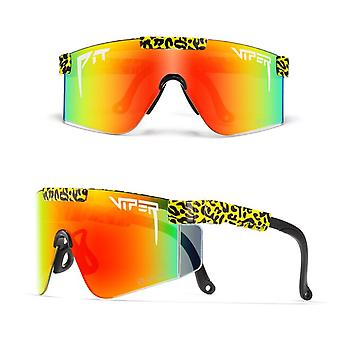 Pit-viper Uv400 Outdoor Movement Cycling Running Polarized Sunglasses For Men