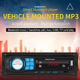 12v Fm Mp3 Usb Aux Lcd Stéréo De Voiture Radio Bluetooth Intégré Tableau de Bord Lecteur-noir